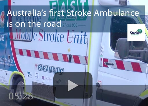 Australia's first Stroke Ambulance is on the road